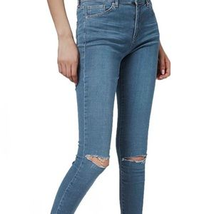 Topshop Leigh Blue Jeans